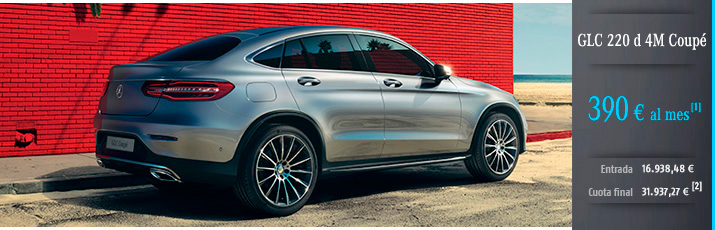 Clase GLC 220d 4M con Mercedes-Benz Alternative Lease