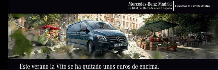 oferta Mercedes-Benz Vito Madrid